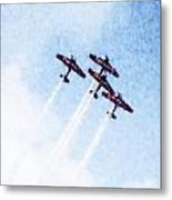 0166 - Air Show - Watercolor 1 Metal Print