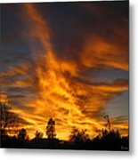 02 05 11 Sunset Two Metal Print