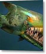 Iron Fish   Metal Print