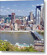 0240 Pittsburgh Pennsylvania Metal Print