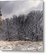 0243 Grosse Point Lighthouse Evanston Illinois Metal Print