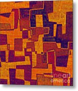 0272 Abstract Thought Metal Print