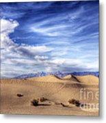 0292 Death Valley Sand Dunes Metal Print