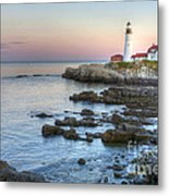 0312 Portland Head Lighthouse Metal Print