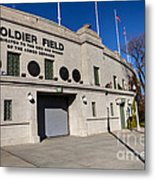 0417 Soldier Field Chicago Metal Print by Steve Sturgill