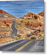 0445 Valley Of Fire Nevada Metal Print