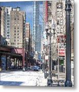 0450 Wabash Avenue Chicago Metal Print