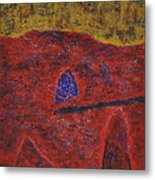 046 Abstract Thought Metal Print
