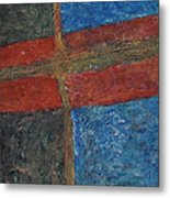 047 Abstract Thought Metal Print