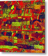 0480 Abstract Thought Metal Print