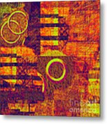 0482 Abstract Thought Metal Print