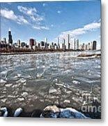 0486 Chicago Skyline Metal Print