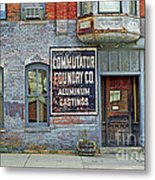 0605 Old Foundry Building Metal Print