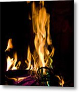 060912-15   Fire Dance Metal Print