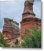 07.30.14 Palo Duro Canyon - Lighthouse Trail  19e Metal Print
