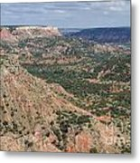 07.30.14 Palo Duro Canyon - Lighthouse Trail 5e Metal Print