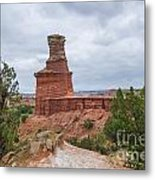 07.30.14 Palo Duro Canyon - Lighthouse Trail 62e Metal Print