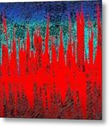 0738 Abstract Thought Metal Print