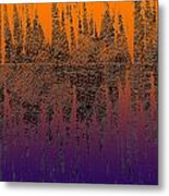 0740 Abstract Thought Metal Print