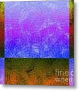 0770 Abstract Thought Metal Print