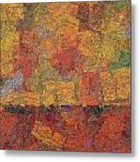 0774 Abstract Thought Metal Print