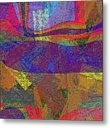 0781 Abstract Thought Metal Print