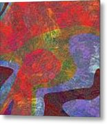 0782 Abstract Thought Metal Print