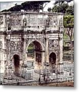 0793 Arch Of Constantine Metal Print