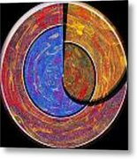 0826 Abstract Thought Metal Print