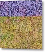 0872 Abstract Thought Metal Print