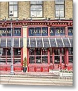 0875 Emmett's Tavern And Brewing Company Metal Print