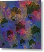 0885 Abstract Thought Metal Print
