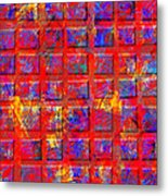 0890 Abstract Thought Metal Print