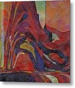 0910 Abstract Thought Metal Print