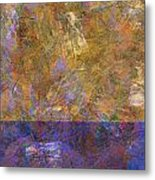 0913 Abstract Thought Metal Print