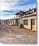0926 Sky City - New Mexico Metal Print