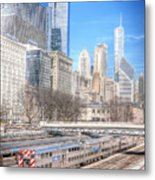 0945 Chicago Metal Print