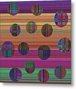0948 Abstract Thought Metal Print