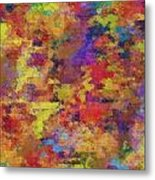 0955 Abstract Thought Metal Print