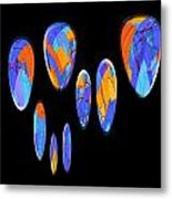 0986 Abstract Thought Metal Print