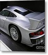 1997 Porsche 911 Gt1 Street Version Metal Print