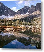 Cirque Of The Towers In Lonesome Lake 5 Metal Print