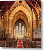 St Giles Shipbourne Metal Print