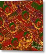 0255 Abstract Thought Metal Print