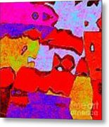 0319 Abstract Thought Metal Print