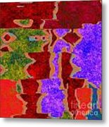 0322 Abstract Thought Metal Print