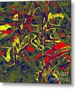 0399 Abstract Thought Metal Print