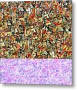 0415 Abstract Thought Metal Print