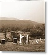 101708-1   On A Hillside In Pennsylvania Metal Print