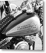 110th Anniversary Harley Davidson Metal Print